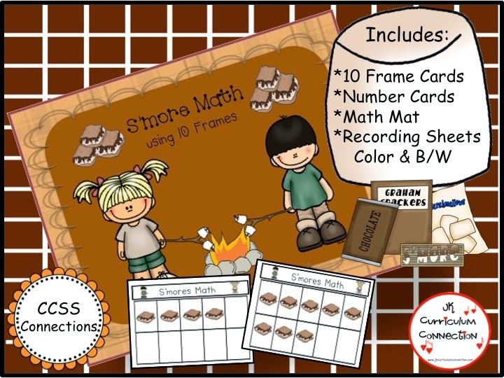 Math Center Camping JK Curriculum Connection