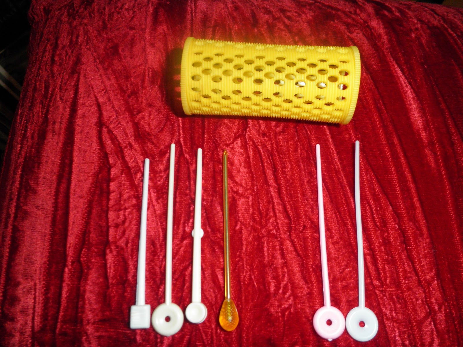 PhenomenalhairCare: Using Hair Roller Stick picks