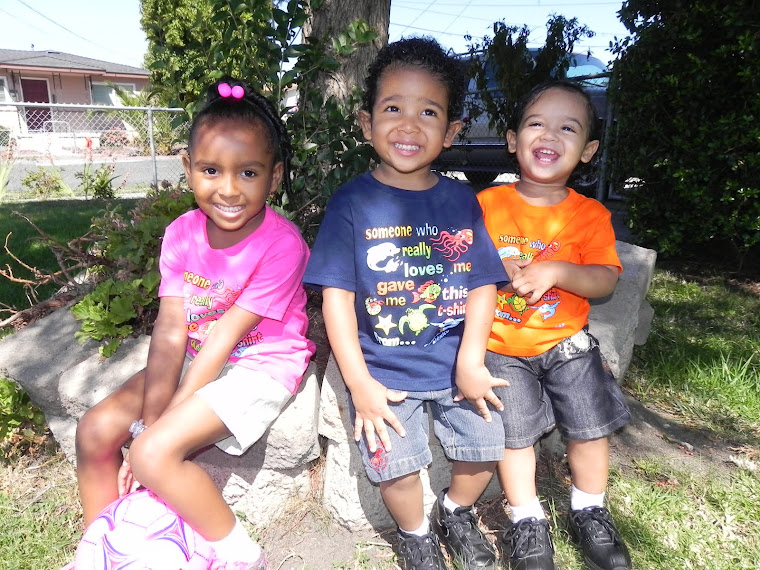 The kids: Jade, Xzavier &amp; Tiberius