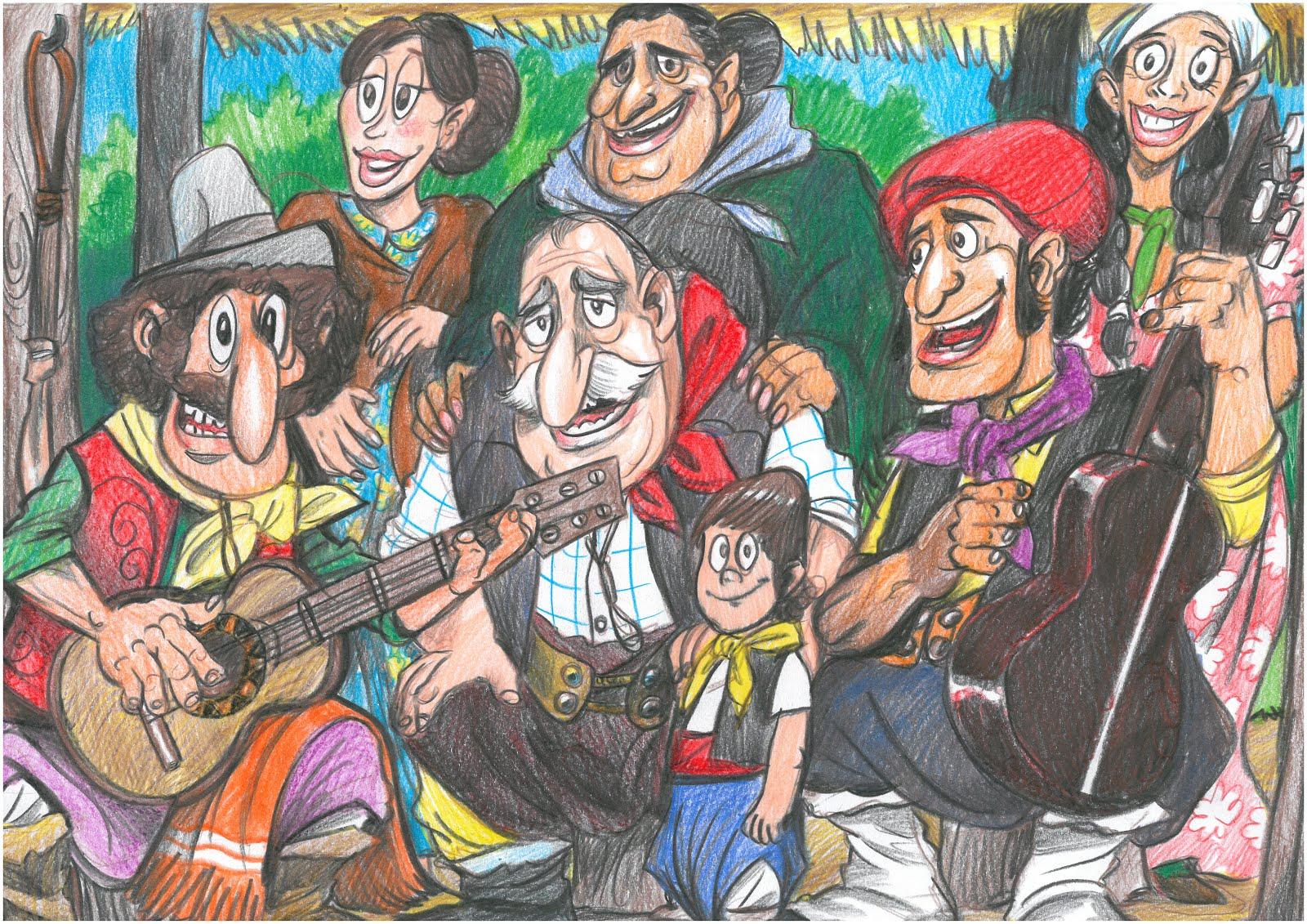 FAMILIA DE CANTORES