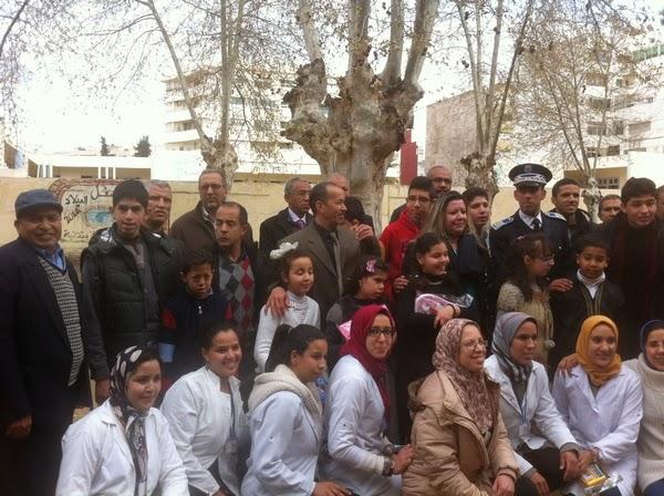 مدرسة عمر الخيام الابتدائية بفاس : يوم مفتوح لفائدة ذوي الاحتياجات الخاصة