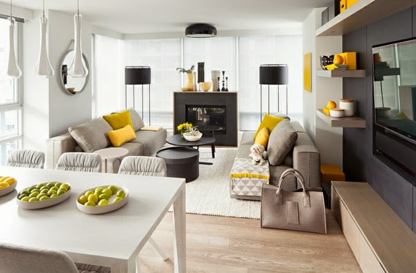 Living Room Color Schemes Yellow And Gray Creative Combination For Classic  Or Modern Design Part 63
