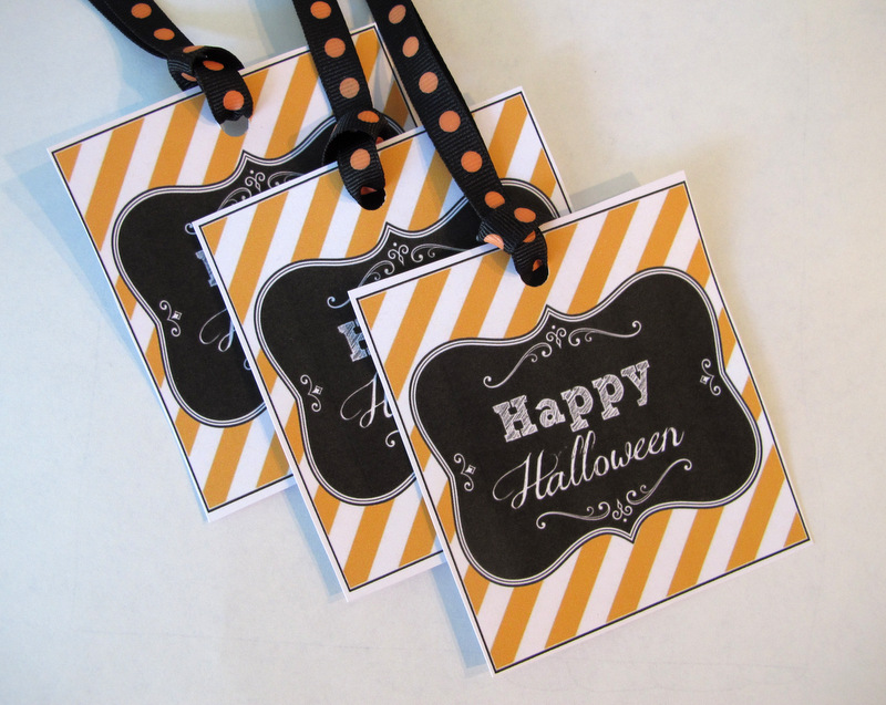 Printable Halloween Tags  Labels