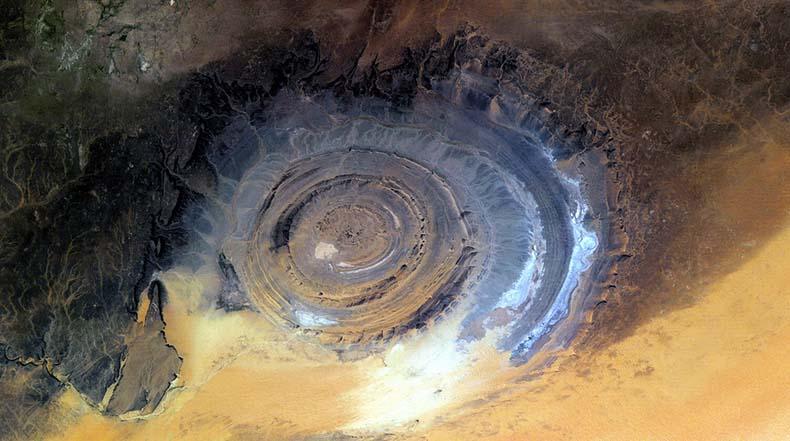 El Ojo del Sahara | La Estructura Richat