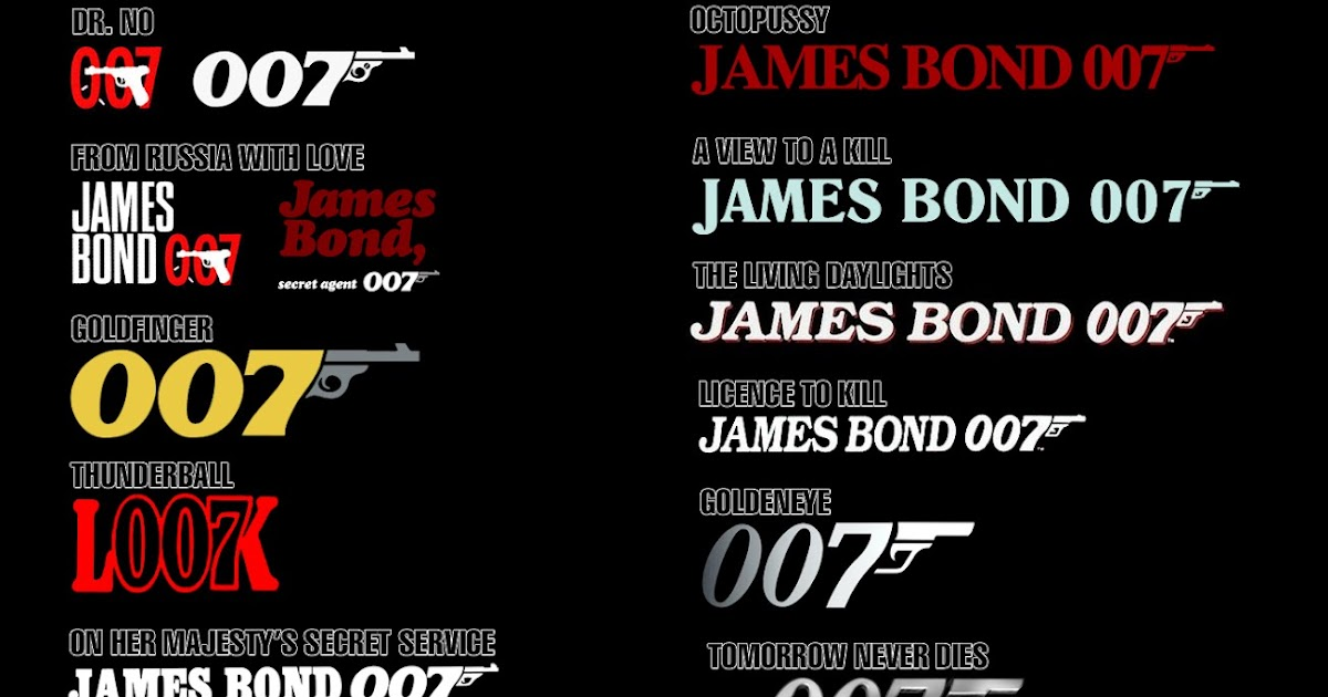 james bond memes thoughts on the evolution of the 007 gun logo