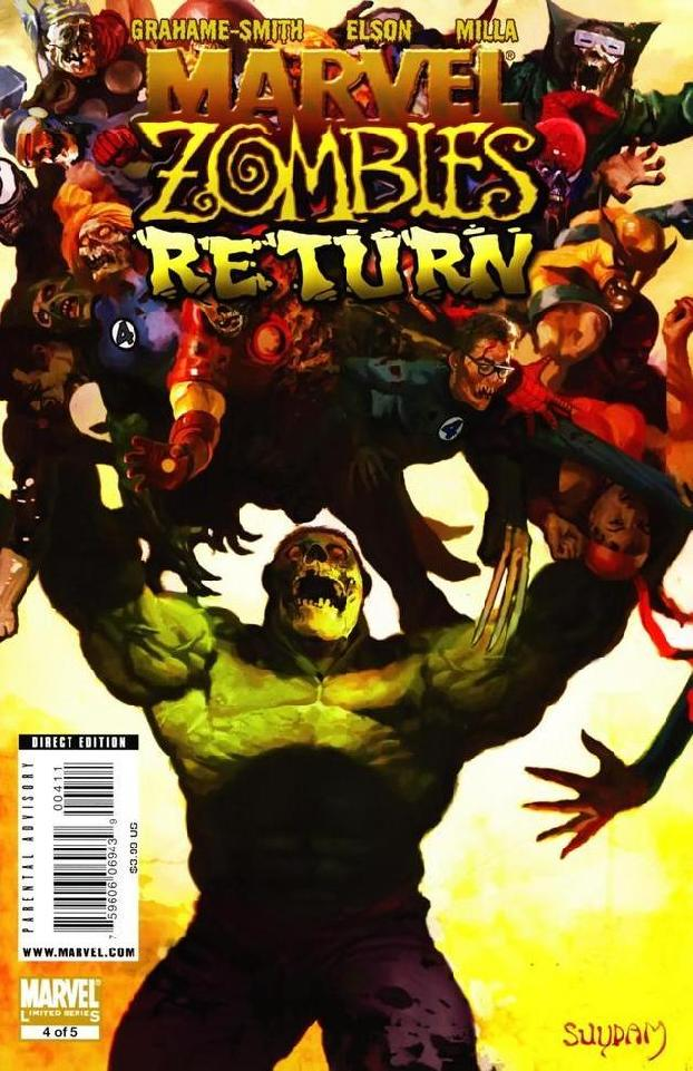 Pop culture shop hulk vs marvel zombies comic book spiderman iron man