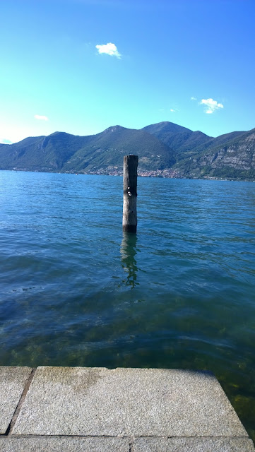 View over Lake Iseo