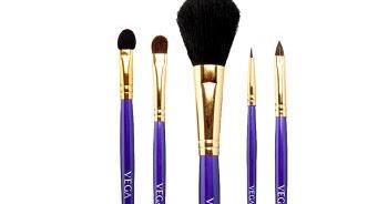 Vega makeup brush set price