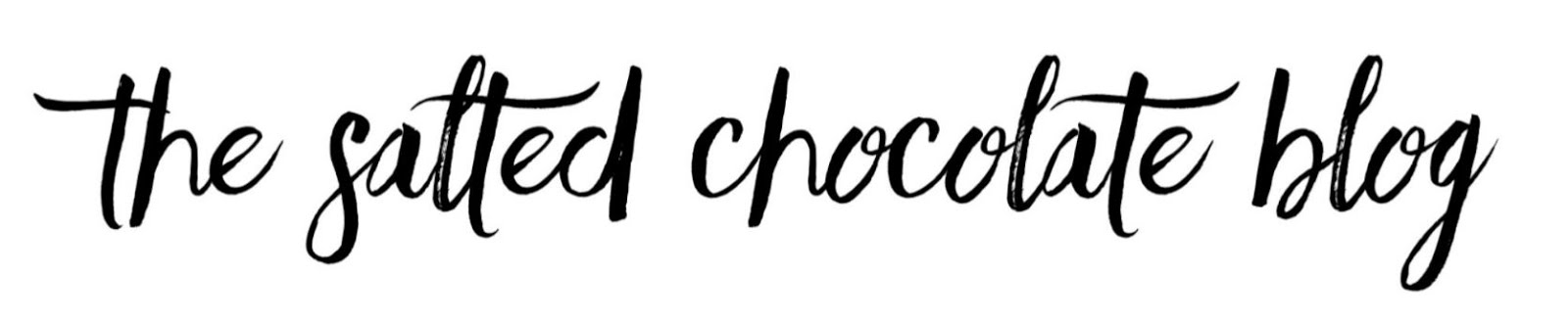 The salted chocolate blog