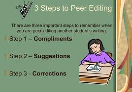 3 steps to peer editing