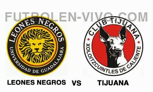 Leones Negros vs Tijuana
