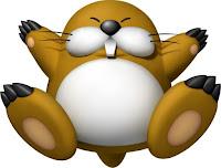 Imagen con el topo enemigo de Mario, Monty Mole