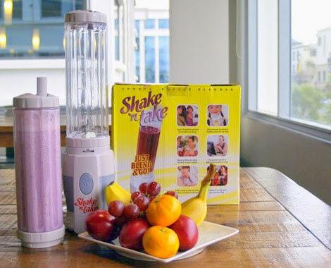 Sekarang lebih mudah membuat jus, ice blended & smootie dengan Shake 'n' Take!