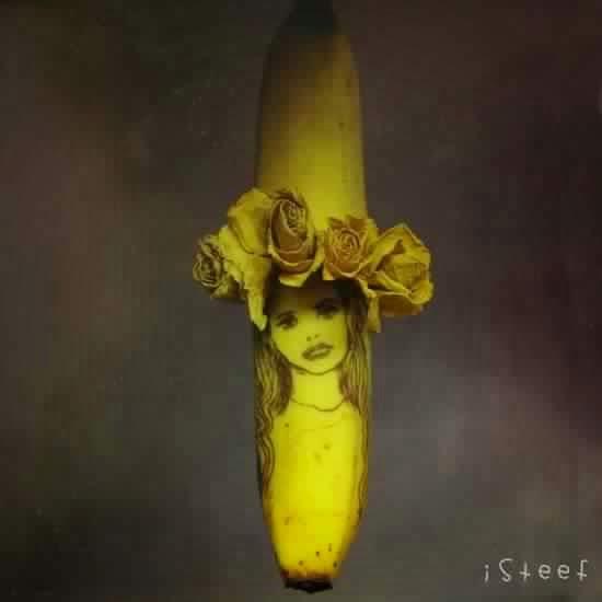 فنان هولندي يحول الموز إلى أعمال فنية رائعة