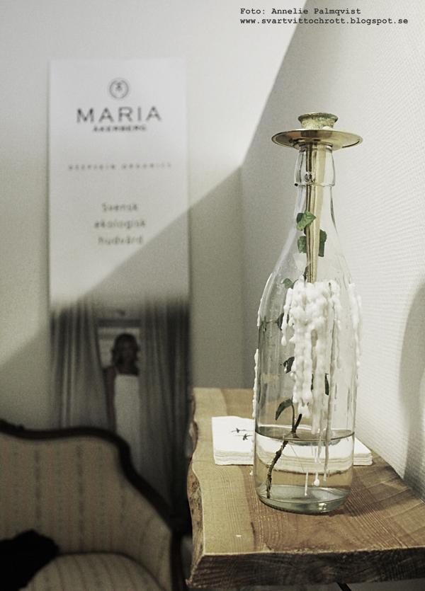 flaska, ljusstake, ljushållare för flaskor, inredning, inredningsdetaljer, detaljer, tips, ljusstakar, grön skönhet, varberg, varbergs,
