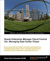 "NOW AVAILABLE: My Book ""Managing Data Center Chaos using Enterprise Manager Cloud Control 12c"""