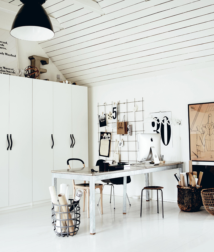 working space styling Hans Blomquist