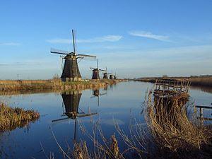 Tempat Wisata Di Belanda - Windmills of Kinderdijk
