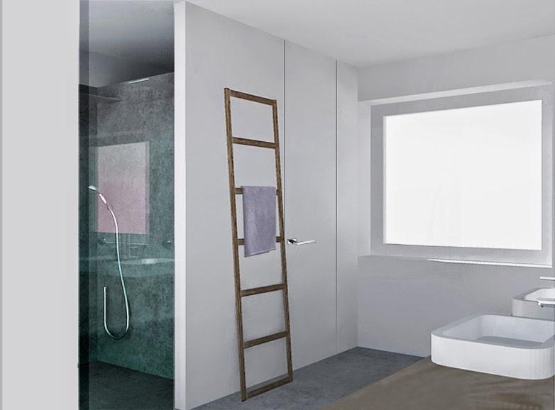 Architettura progettazione e design un bagno formato - Pittura lavabile bagno ...