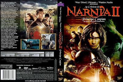 As Crônicas de Nárnia 2 Príncipe Caspian DVD Capa