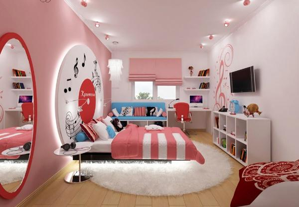 habitaciones con estilo fotos de dormitorios juveniles tema m sica. Black Bedroom Furniture Sets. Home Design Ideas