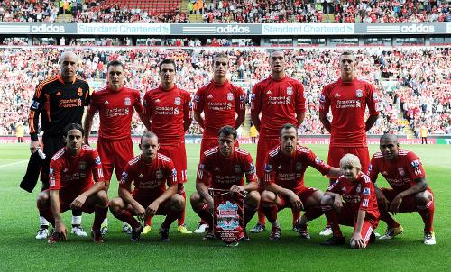 El 11 ideal del Liverpool FC