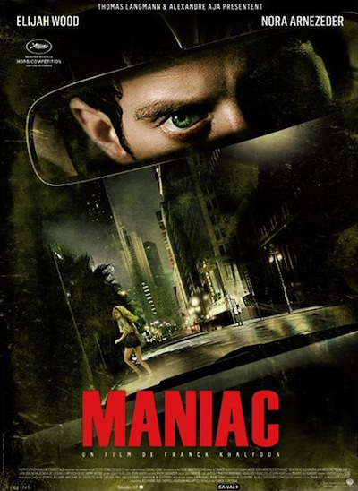 MOVIES : Maniac - Trailer (featuring Elijah Wood as a serial killer)