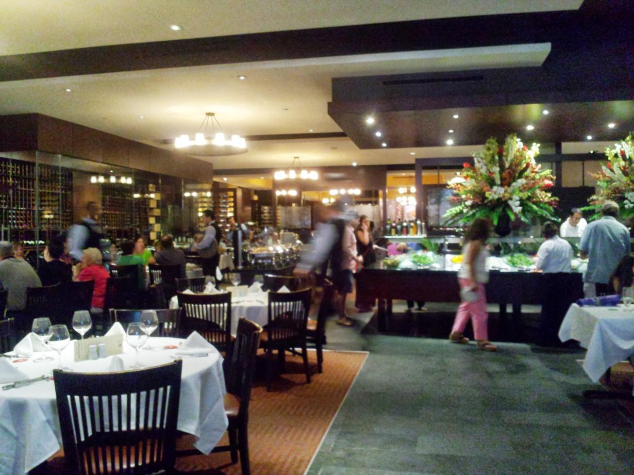 Picture inside Fogo de Chao restaurant