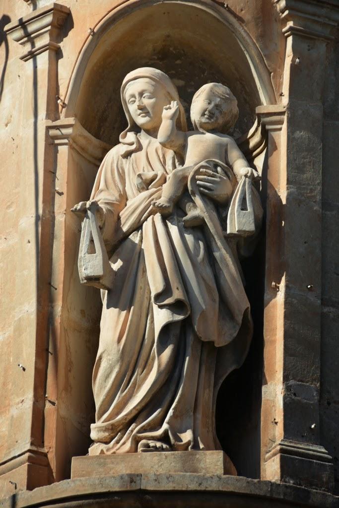 Mosta General Impressions statue