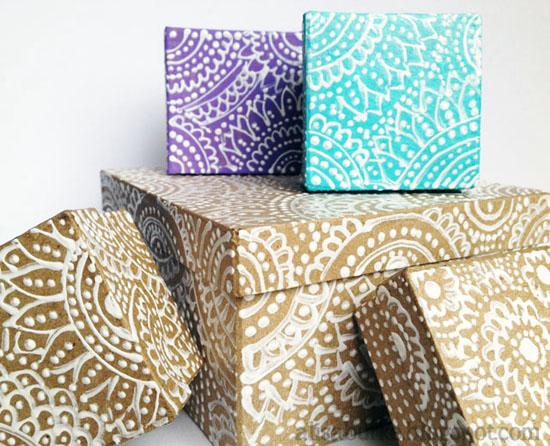 IHeart Organizing DIY Decorative Storage Box Ideas