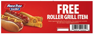 Free Roller Grill Item at RaceTrac
