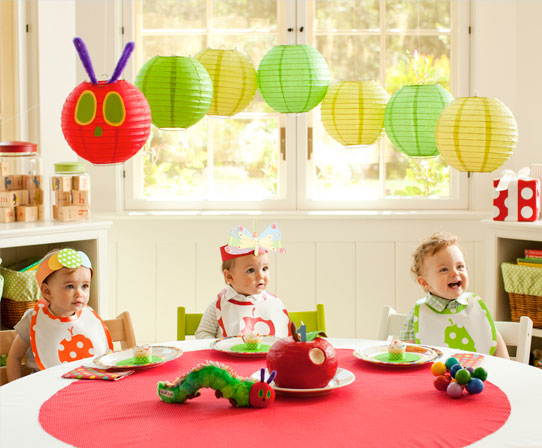 The house that built us first birthday party themes for Baby first birthday decoration ideas