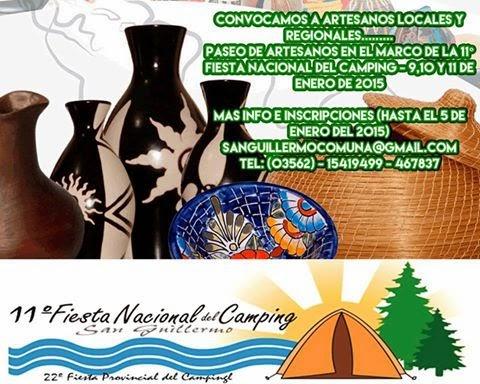 PASEO DE ARTESANOS EN LA 11° FIESTA NACIONAL DEL CAMPING