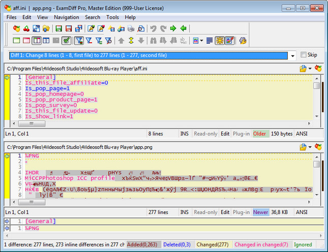 ExamDiff Pro 7.0.1.6 Full