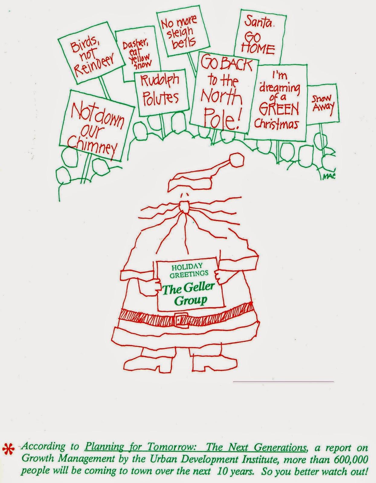 Michael Gellers Blog Geller Christmas Cards Over The Years