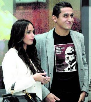 Nicolas Almagro with Girlfriend