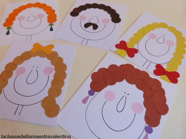 La Classe Della Maestra Valentina La Famiglia Coriandolone