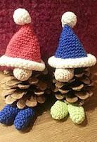 http://www.ravelry.com/patterns/library/christmas-pine-gnomes---zapfenwichtel