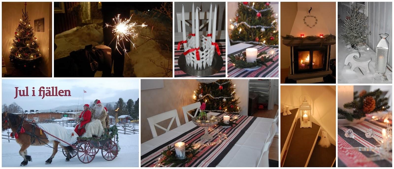 Jul i fjällen - julblogg från Åre
