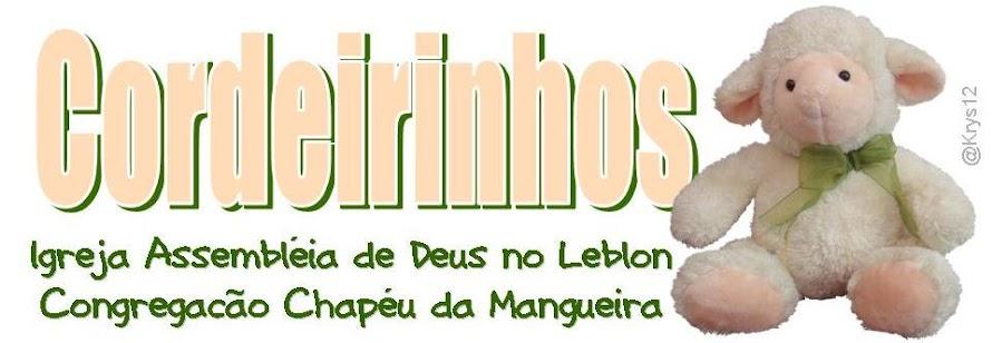 Cordeirinhos - Min Infantil Chapéu da Mangueira