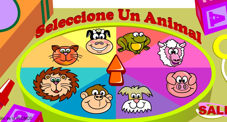 JUEGOS SENCILLOS EDUCACION ESPECIAL: LOS ANIMALES EN ESPAÑOL/INGLES