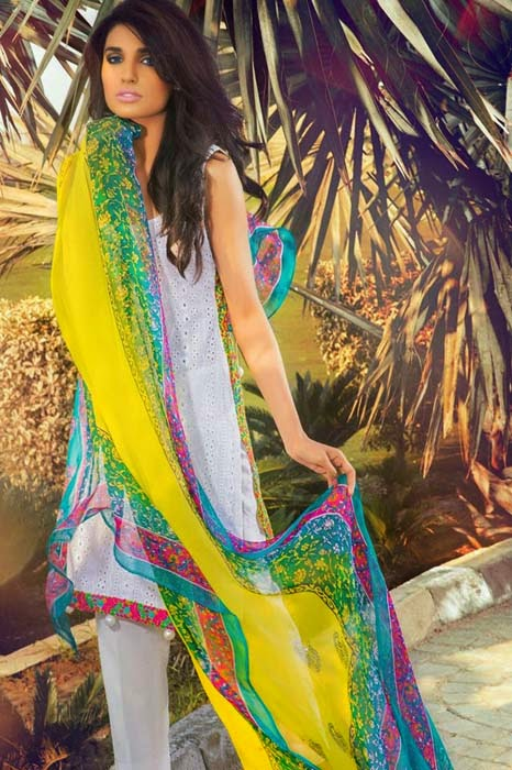 Shirin Hassan Lawn Collection 2015 6