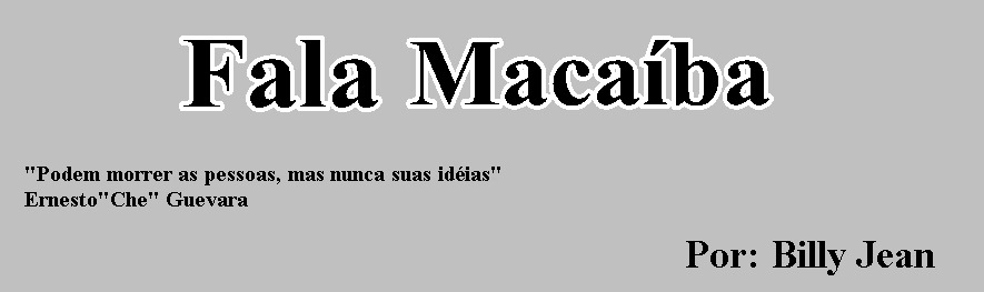 Fala Macaíba