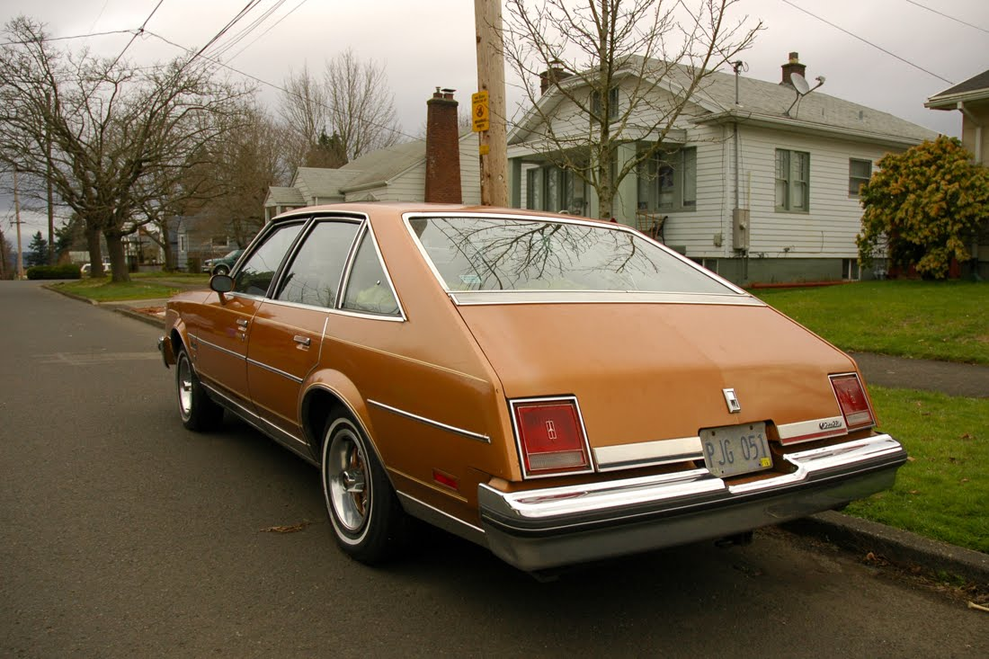 old parked cars 1978 oldsmobile cutlass salon brougham
