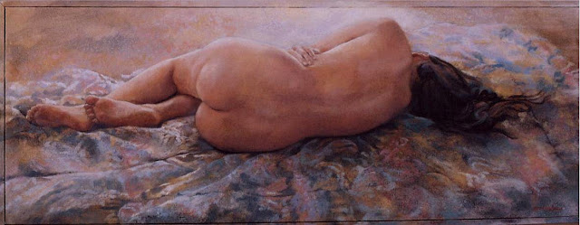 D.W.C. Figurative paint - Artist Remy Daza Rojas