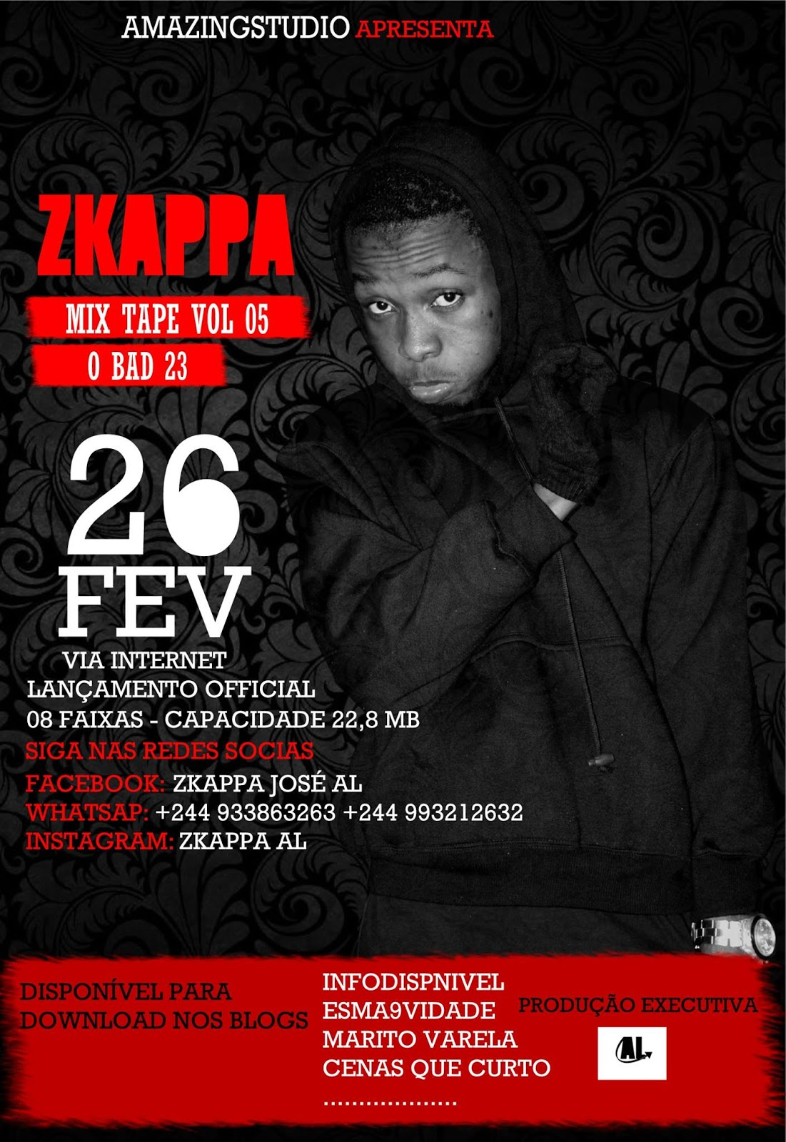 ZKappa - Mixtape O Bad (26/02/16)