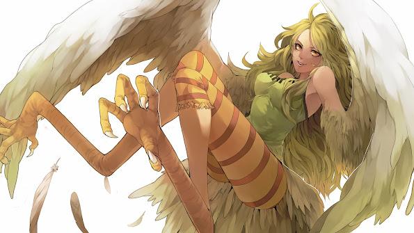 monet harpy one piece anime hd wallpaper 1920x1080