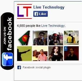 Floating Facebook Like