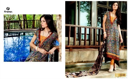 Digital Viscose Firdous Collection 2014