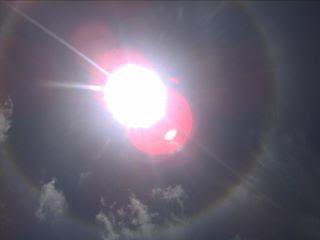 foto halo matahari 4 oktober 2011